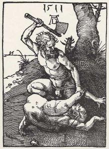 Albrecht Dürer: Kain erschlägt Abel