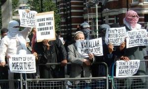 London- Moslem-Demo
